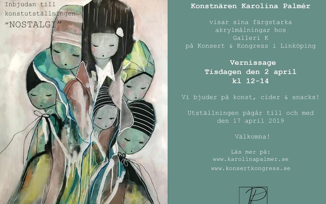 Konstutställning på Galleri K Konsert & Kongress i Linköping