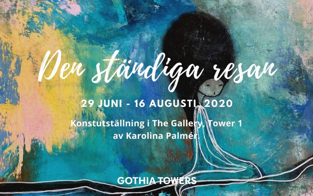 Sommarutställning på The Gallery Göteborg 29 juni-16 aug  2020