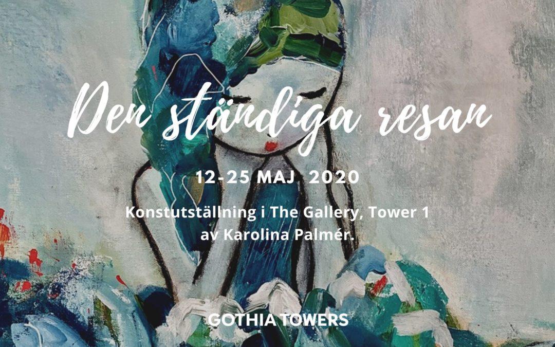 Konstutställning The Gallery Göteborg 12-25 maj 2020